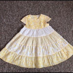 George Girls 3T Toddler Yellow Dress